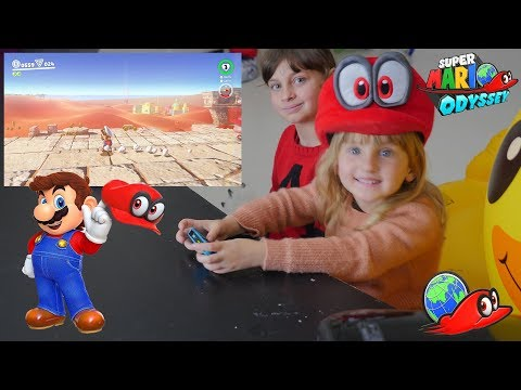 [SWITCH] Super Mario Odyssey sur Switch - Studio Bubble Tea Gaming