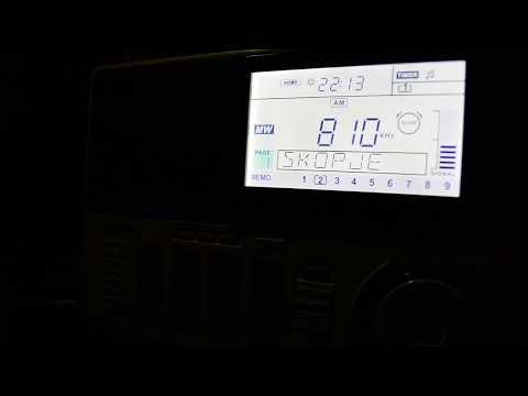 Makedonsko Radio.Skopje,Macedonia.810кГц