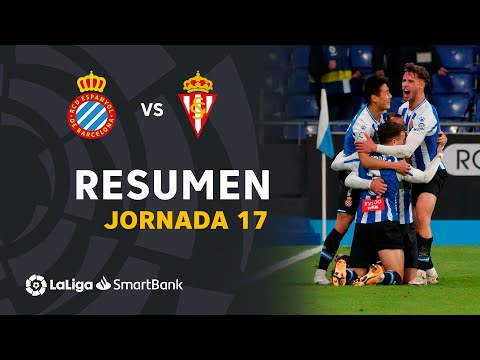 Espanyol Gijon Goals And Highlights