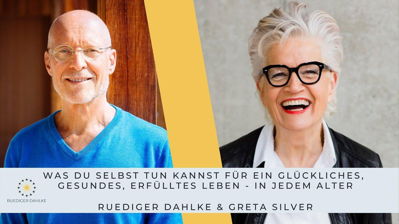Ruediger Dahlke im Gespräch...