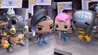 Overwatch Wave 3 Funko Pop Vinyl Figures At The 2018 New York Toy Fair