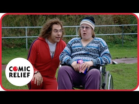 Little Britain's Lou and Andy do Athletics | Comic Relief