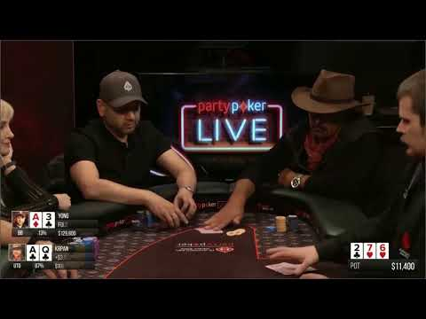 High Stakes Poker $100 $200 BIG POTS PART 1
