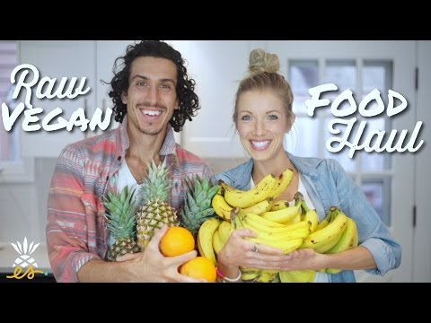 What's In Our Fridge?: Raw Vegan/Plant-based Food Haul + Spring Cleaning
