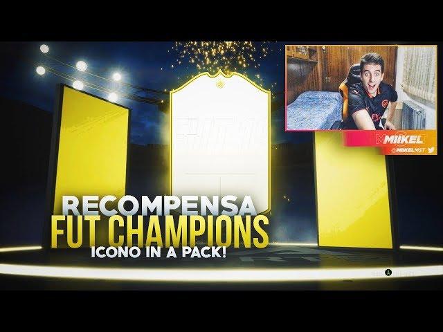 ME TOCA MI SEGUNDO ICONO IN A PACK !! | RECOMPENSAS DE FUT CHAMPIONS