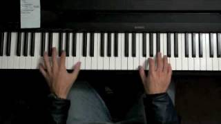 Super Mario Bros. Overworld Theme - Jazz Piano Chords