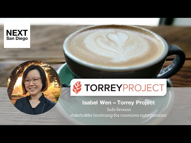 NSD Coffee - Info Session: Torrey Project's Founders Bootcamp for Stakeholder Capitalists