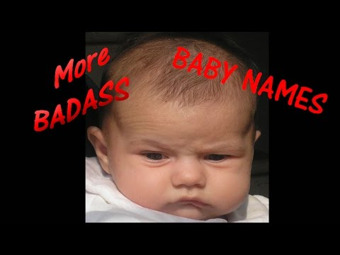BADASS BABY BOY NAMES 2017  👿Best Unusual Baby Names 👈