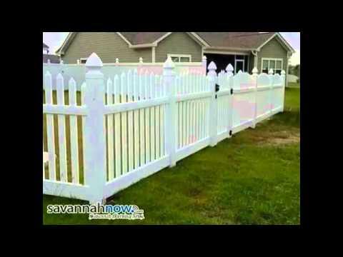 Jdh Decks Fences Inc Vinyl Fence Installation Savannah Ga 31405