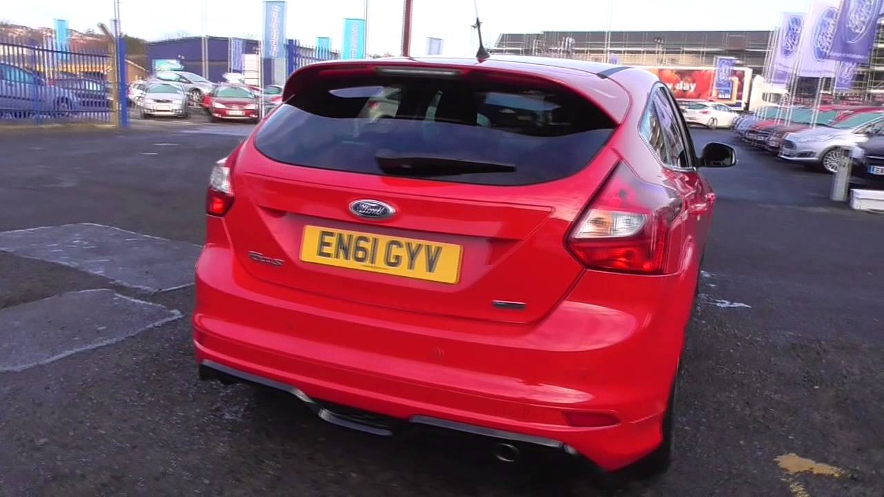 ford focus 1.6 182 ecoboost zetec s 5dr u78974 - youtube