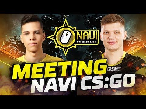 Игроки Esports Camp против NAVI CS:GO