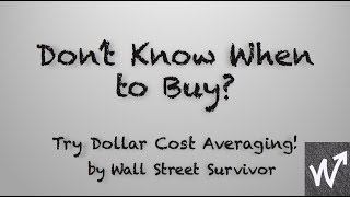 When To Buy Stocks | Wall Street Survivor