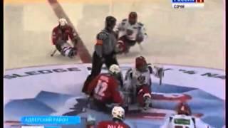 Следж-хоккей Россия - Чехия