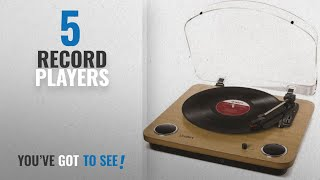 Top 10 Record Players [2018]: ION Audio Max LP Belt Drive Vinyl Record Player Turntable with