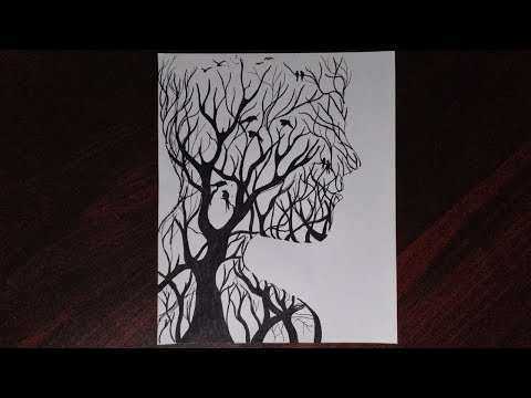 easy-drawing-girl-step-by-step/-how-to-draw-a-sad-girl-scenery-by-colorhand