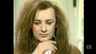 Countdown (Australia)- Molly Meldrum Interviews Boy George- June 26, 1984- Part 1