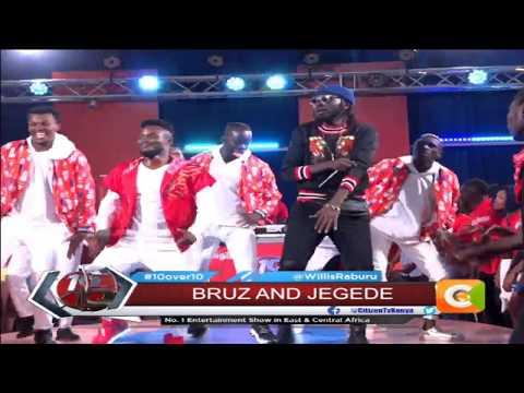 Jegede, Bruz Newton showcase brand new hit 'Sukuma' #10Over10
