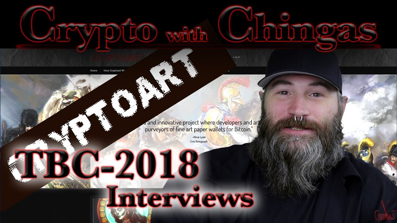 Texas Bitcoin Conference 2018 - CryptoArt com - Interview with Troy