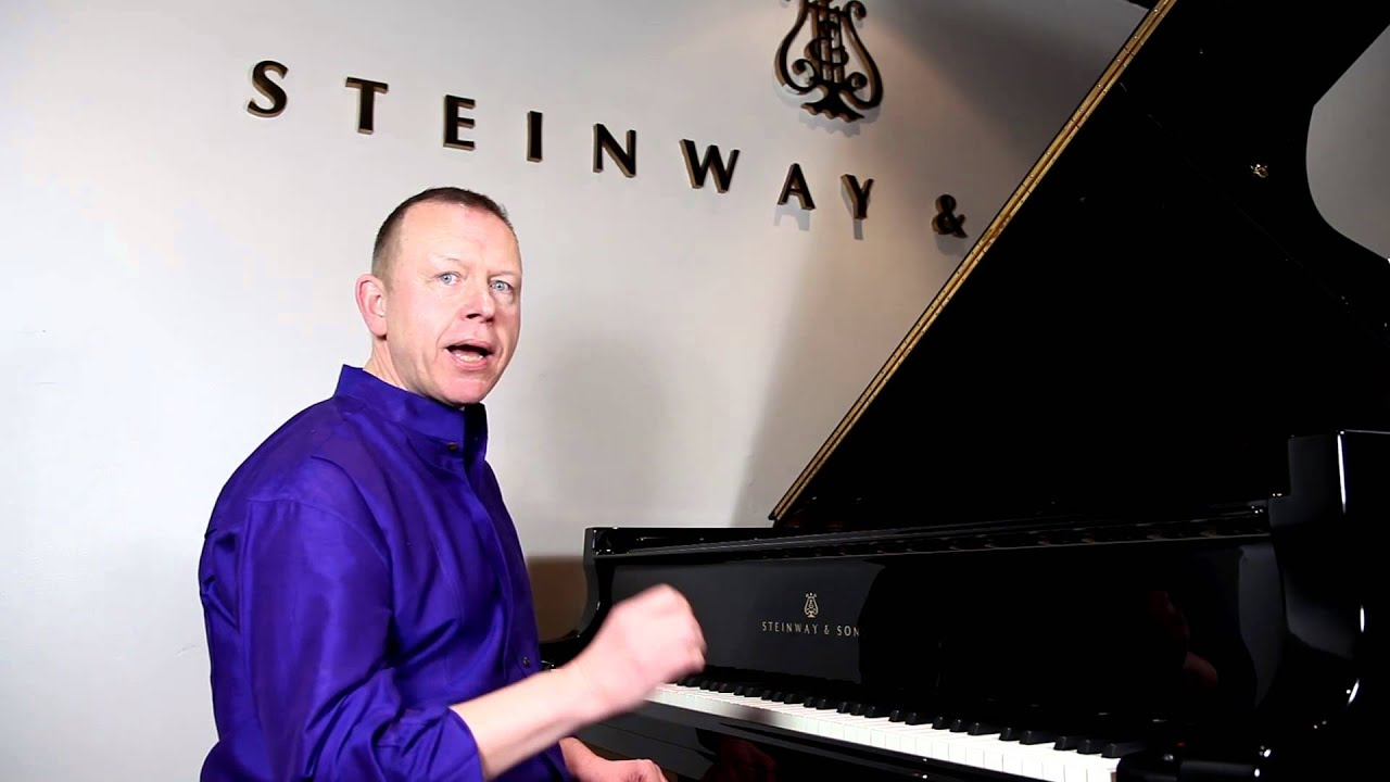 Piano masterclass on runs and passagework, from Steinway Hall London