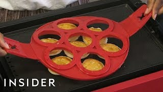 Can You Really Flip 7 Pancakes At Once With A Flipper?