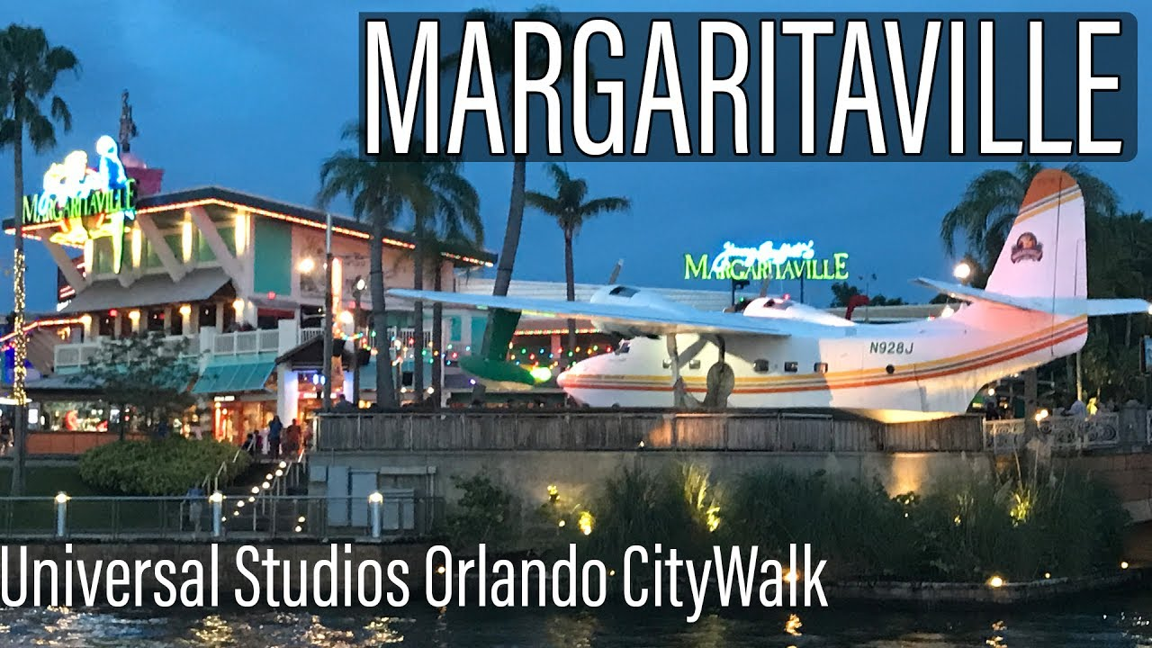 Margaritaville Restaurant At Universal Citywalk Orlando