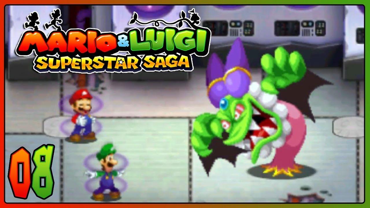 Mario Luigi Superstar Saga 3ds Part 8 Cackletta Boss Battle