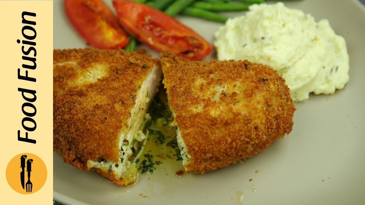 Chicken Ala Kiev Recipe By Food Fusion