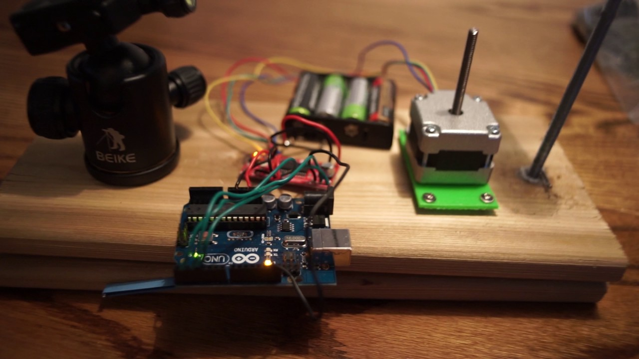 Its Alive Barn Door Tracker Gets Electricity Youtube
