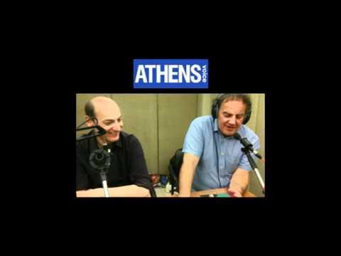 Athens Voice Radio 03/04/2012 : Πολιτική Τέχνη Βιβλία