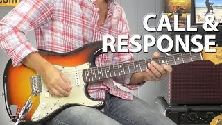 Call and Response Guitar Lesson Blues