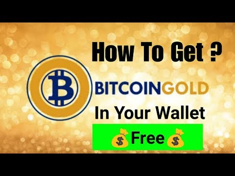 How To Get BITCOIN GOLD? In Your Wallet (Free) 💰