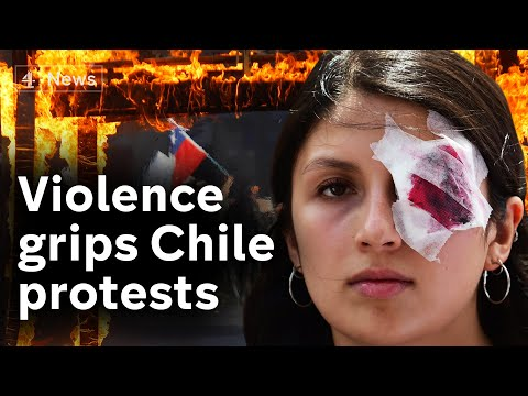 Police accused of using excessive force in Chile protests