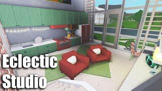 Eclectic Studio Speedbuild - Roblox: Bloxburg - 51K