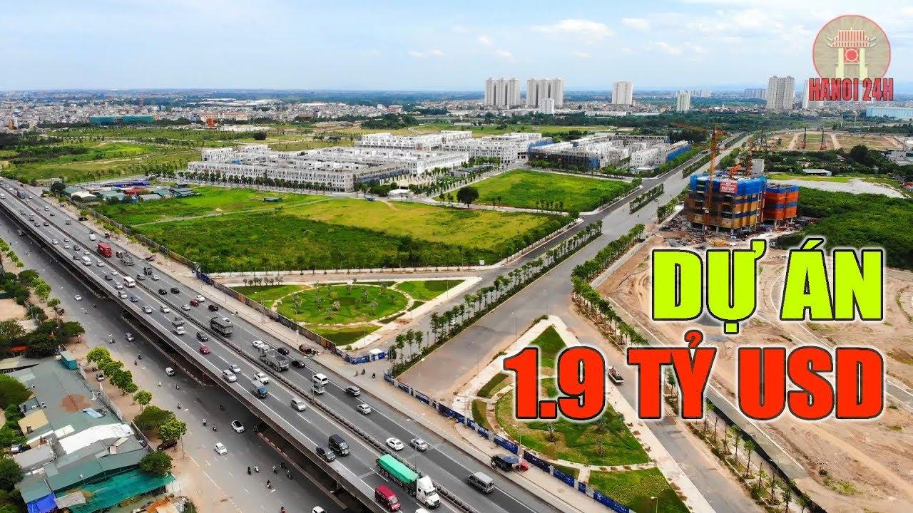 Khu đô thị The Manor Central Park và con đường nối Nguyễn Xiển – Xa La