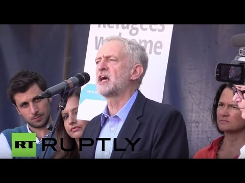 LIVE: Corbyn to address anti-Tory party meeting in Manchester