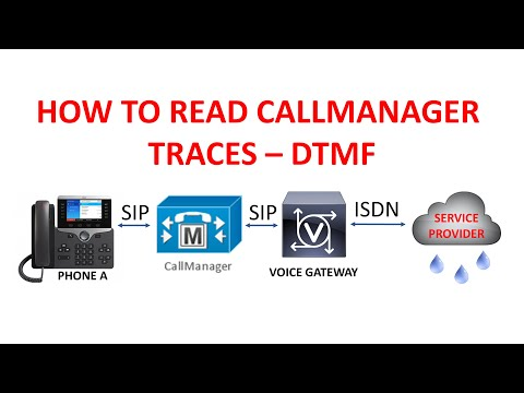 CALLMANAGER TRACES - DTMF