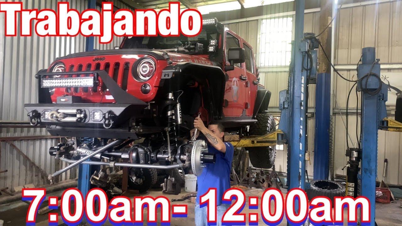 Miércoles trabajando 17 horas! El Tosky y el Jeep LJ