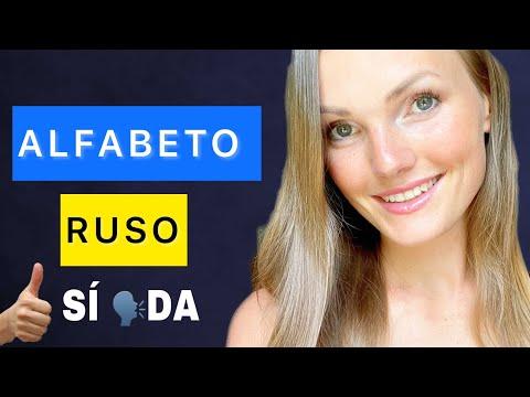 ALFABETO RUSO | APRENDE A LEER EN RUSO | Ruso Español (Letras Rusas)