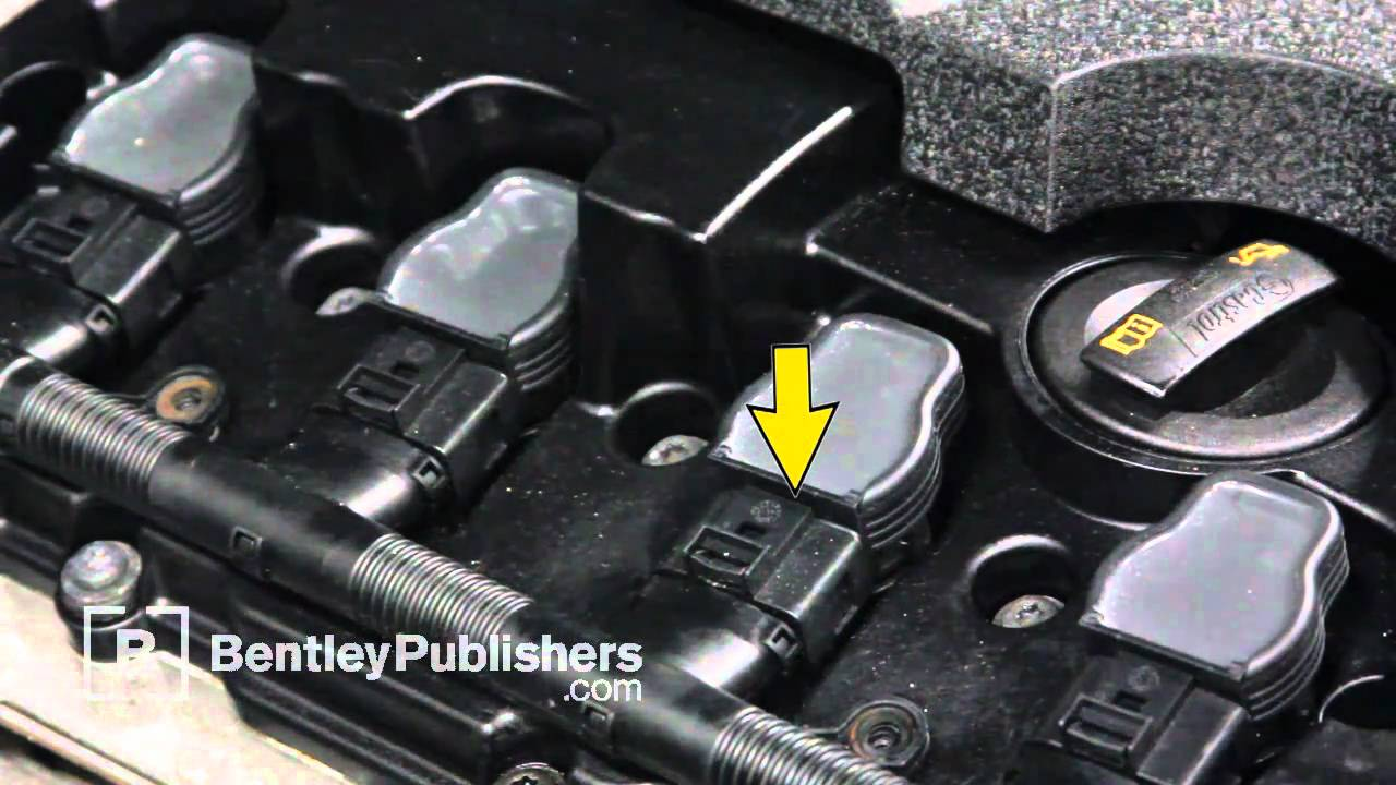 Audi A4 (B6, B7) 2002-2008 - How to replace spark plugs on a 2.0 L FSI engine - DIY Repair - YouTube