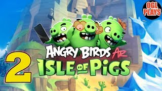 ANGRY BIRDS AR: ISLE OF PIGS ROCKY RUINS Gameplay #2