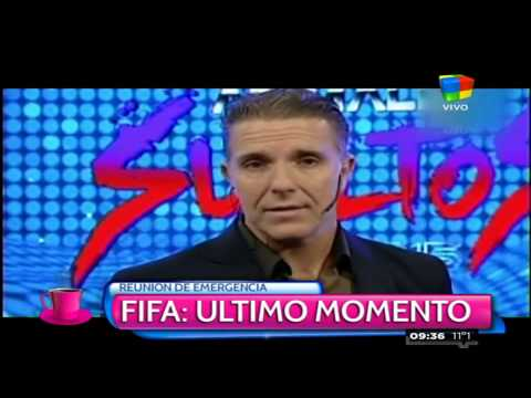 Fantino: En 15 días cae Blatter
