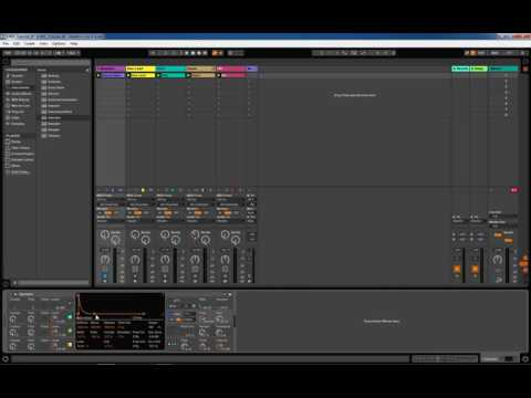 OBIS Tutorials - Melbourne Bounce Bass in Ableton Live using Operator