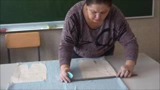 Технология  изготовления юбки. Раскрой