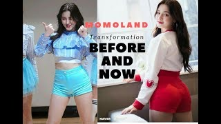 Momoland Transformation Before and Now