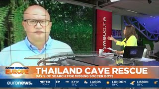 Thailand Cave Rescue: Day 9 for missing boys in the Tham Luang caves in Chiang Rai