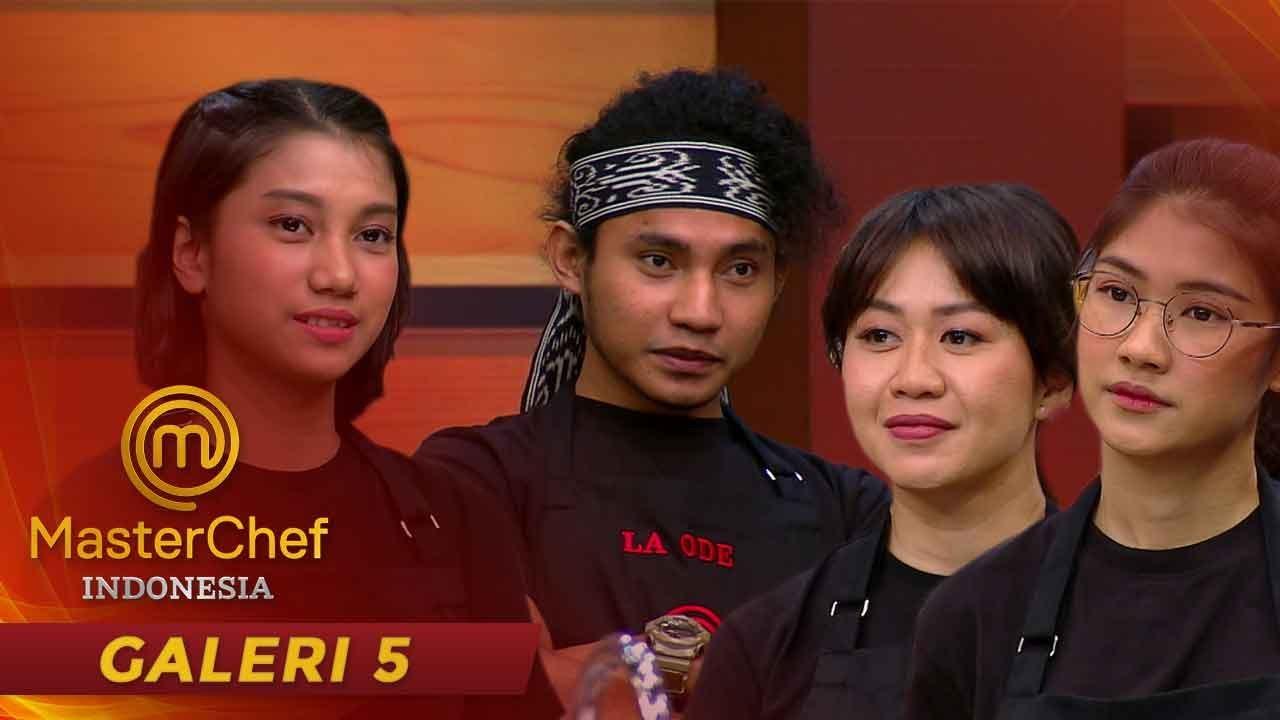 MASTERCHEF INDONESIA -  Inilah Ke-4 Peserta Yang Bersaing Di Pressure Test| Galeri 5