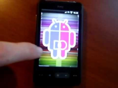 Android running on HTC HD MINI