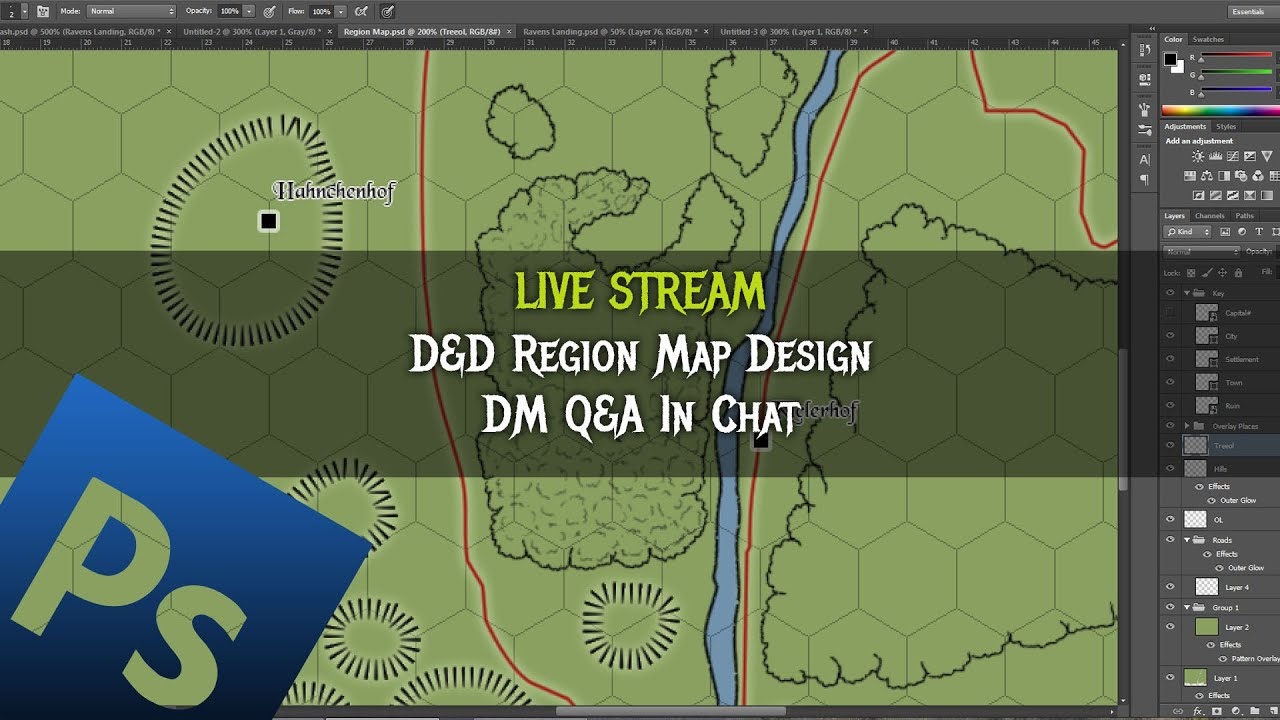 how to draw dnd maps