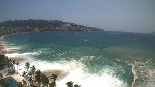 Acapulco. Mar de fondo 2 de mayo 2015