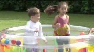 INTEX Inflatable Jump-O-Lene Transparent Ring Bouncer   48264EP